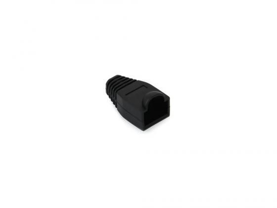 Колпачок пластиковый для вилки RJ-45 VCOM VNA2204-BC 100шт черный колпачок gembird для коннектора rj 45 grey bt5gy 5 100шт