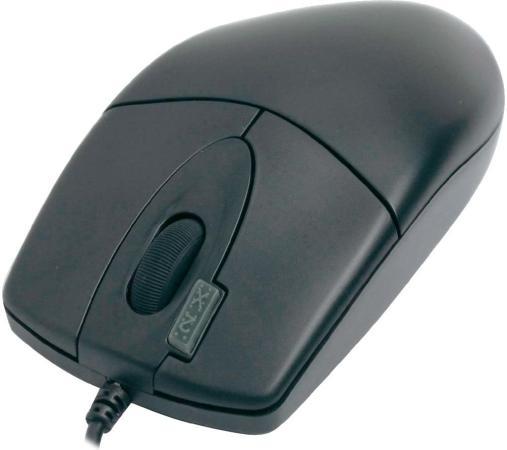 цена Мышь проводная A4TECH OP-620D чёрный USB 85694