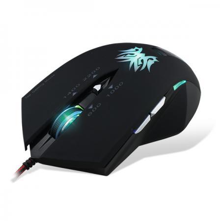 Мышь проводная Crown Gaming CMXG-602 чёрный USB