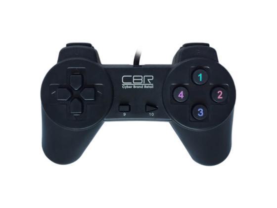 цена на Геймпад CBR CBG 905 проводной USB черный