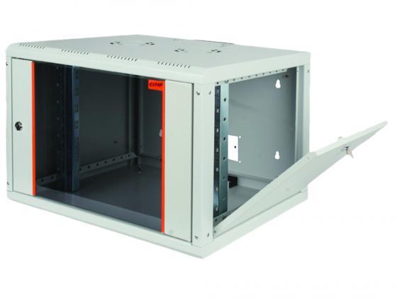 Шкаф настенный 19 7U Estap ProLine PRL7U56GF1 600x560mm серый