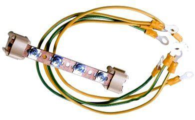 Комплект заземления Estap M44PEB01 шина+провода шина kumho отзывы