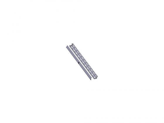 Вертикальный кабельный органайзер Estap M44ORG42G 42U левая и правая панели для шкафов Universal Line серый цена и фото