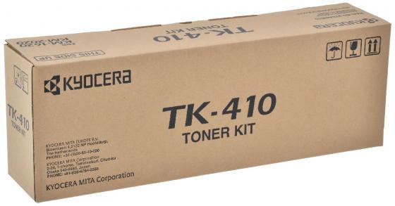 Картридж Kyocera MK-410 для KM-1620 2020 1650 2050 черный 15000стр kyocera mk 1130 mk 1130