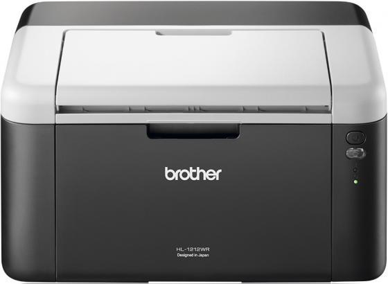 Фото #1: Принтер Brother HL-1212WR ч/б A4 20ppm 2400x600dpi Wi-Fi USB