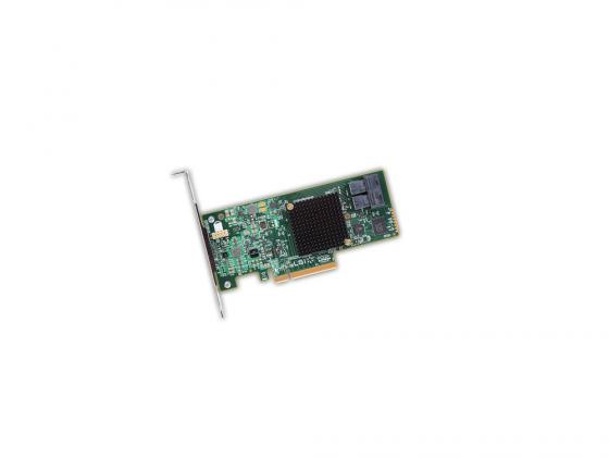 лучшая цена Контроллер SAS/SATA LSI MegaRAID SAS9300-8I PCI-E 3.0 x8 LP SGL LSI00344
