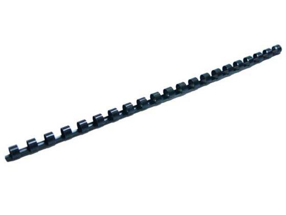 Пружина пластиковая Fellowes FS-53457 8мм черный 100шт стяжка кабельная abb 215х4 8мм черная 100шт
