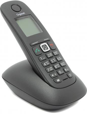 Радиотелефон DECT Gigaset A540 черный радиотелефон dect gigaset a220a серый