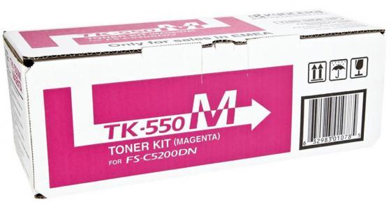 купить Картридж Kyocera TK-550M для FS-C5200DN пурпурный 6000стр