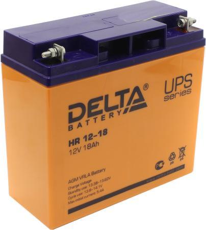 Батарея Delta HR 12-18 18Ач 12B батарея delta dt 1218 18ач 12b