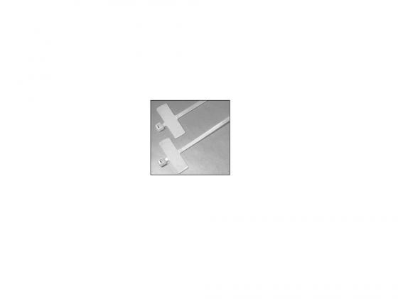 Набор стяжек Hyperline GTK-110MC 110x2.5мм 100шт набор стяжек hyperline gt 160m 160x2 5мм 500шт 100 белый 100 красный 100 зеленый 100 желтый 100 черный