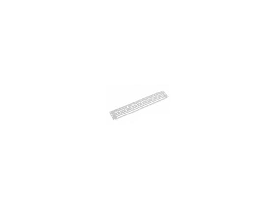 ЦМО Органайзер кабельный горизонтальный для крепления стяжек 19 2U