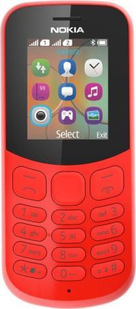 Мобильный телефон NOKIA 130 Dual Sim красный 1.8 nokia 130 dual sim black
