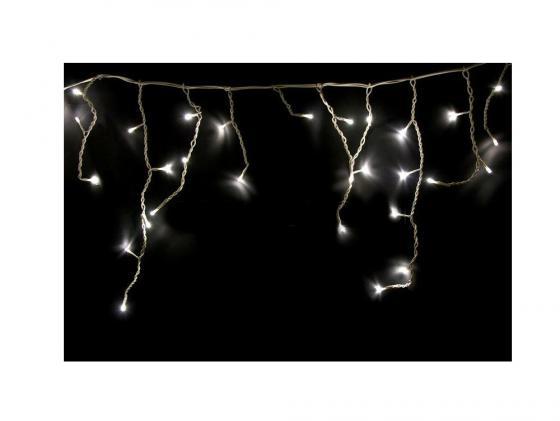 Гирлянда Айсикл бахрома 255-016 1.8х0.5м белый гирлянда neon night набор гостиная led warm white 500 016