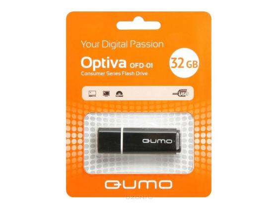 Флешка USB 32Gb QUMO Optiva 01 USB2.0 черный QM32GUD-OP1-black