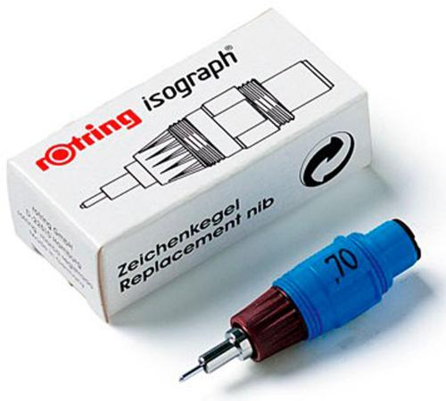 Пишущий элемент для изографа Rotring — 0.18 мм