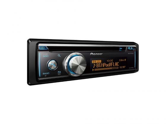Автомагнитола Pioneer DEH-X8700BT USB MP3 CD FM RDS BT 1DIN 4x50Вт черный автомагнитола cd pioneer deh s100ub 1din 4x50вт