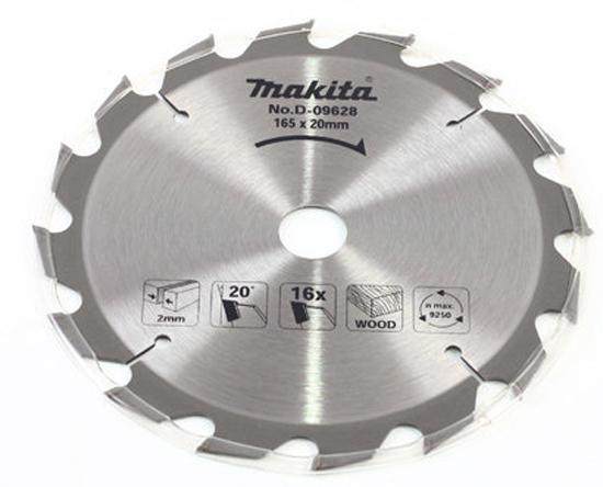 Пильный диск Makita Standard 165х20х2мм 16зуб по дереву D-45870 стоимость