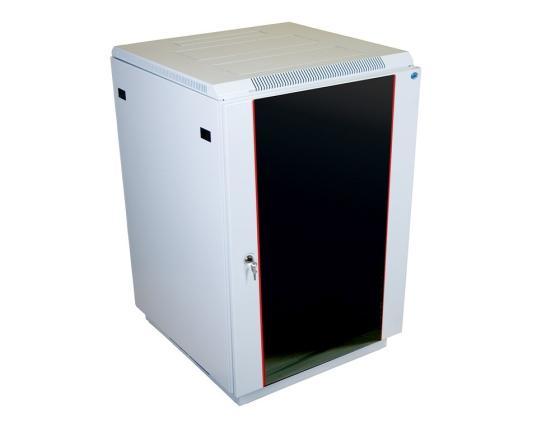цена на Шкаф напольный 18U ЦМО ШТК-М-18.6.6-1ААА/ШТК-М-1В-27.6.6 600х600mm дверь стекло в двух коробках