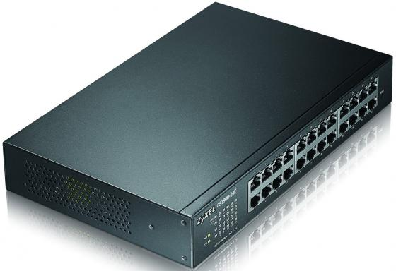 Коммутатор Zyxel GS1900-24E управляемый 24 порта 10/100/1000Mbps коммутатор zyxel gs1100 24 gs1100 24 eu0101f