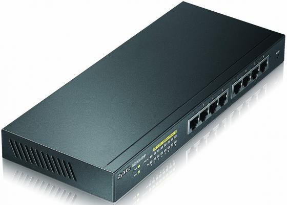 Коммутатор Zyxel GS1900-8HP управляемый 8 портов 10/100/1000Mbps PoE коммутатор zyxel gs1100 16 gs1100 16 eu0101f