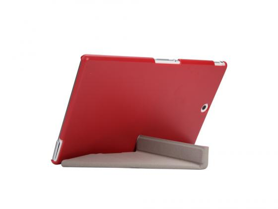 Чехол IT BAGGAGE для планшета Sony Xperia TM Tablet Z3 Compact 8 пластик искусственная кожа красный ITSYZ301-3 magnetic connector charging cable for sony z3 mini z3 compact z3 l55t z2 z1 xperia tablet z2