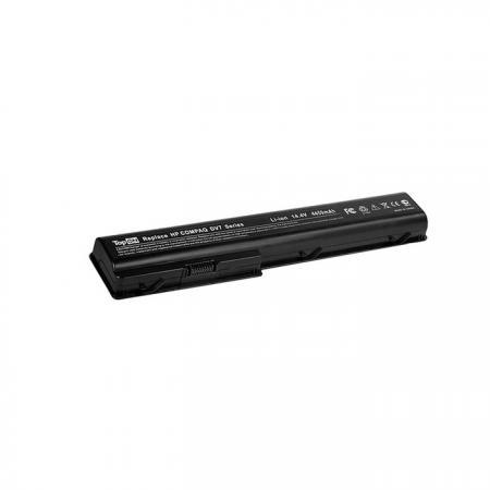 Аккумуляторная батарея TopON TOP-DV7 4800мАч для ноутбуков HP Pavilion DV7 DV8 HDX18 Compaq Presario CQ71-100 CQ71-200 клавиатура rocknparts hp pavilion dv7 6000 dv7 6053er dv7 6b50er dv7 6c51er black 327487