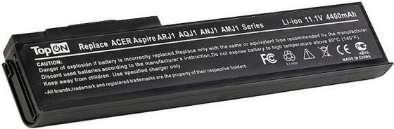 Аккумулятор для ноутбука Acer Aspire 2420, 2920, 2920Z, 3620, 3640, 3670, 4620, 5540, 5550, 5560, 5590, 5561, 5562, Extensa 3100, 4120, 4130, 4220, 4230, 4420, 4620, 4630 4400мАч 11.1V TopON TOP-ARJ1 аккумулятор для ноутбука acer extensa 4220 3100 4420 4120 4620 4630g 4620z 4630 9 элементная