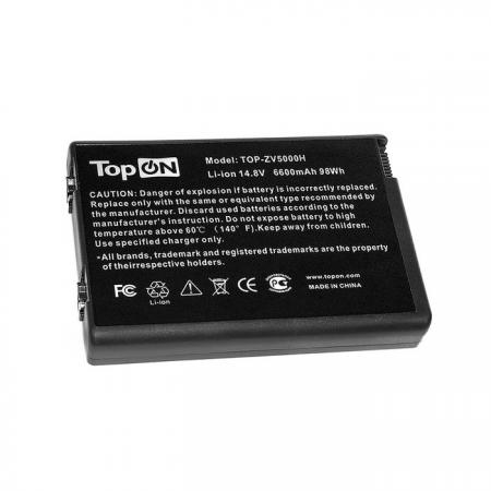 Аккумуляторная батарея TopON TOP-ZV5000H 6600мАч для ноутбуков HP nx9100 nx9110 Pavilion ZX5000 ZV5000 Compaq Presario R3000 517837 001 motherboard for hp compaq presario cq61 pm45 chipset daoop6mb6d0 tested good
