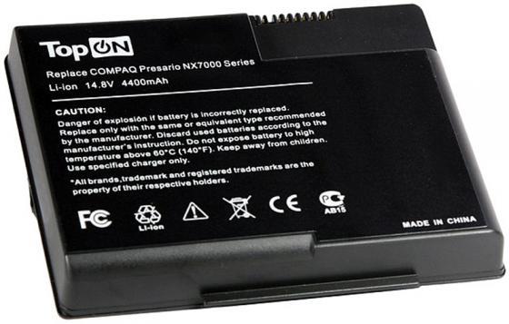 Аккумулятор для ноутбука HP Presario X1000, X1100, X120, X130, Pavilion ZT3000, ZT3100, ZT3200, ZT3300 Series 4400мАч 14.8V TopON TOP-NX7000 аксессуары для фотостудий letspro 1m dslr dl x1000