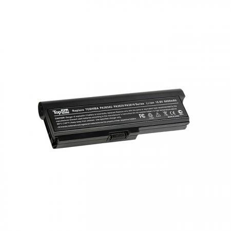 Аккумуляторная батарея TopON TOP-PA3634H 7800мАч для ноутбуков Toshiba Satellite L310 L510 M300 M500 U400 U500 A665 L600 L630 L645 L670 M645 L730 L735 L750 L775 P755 P775