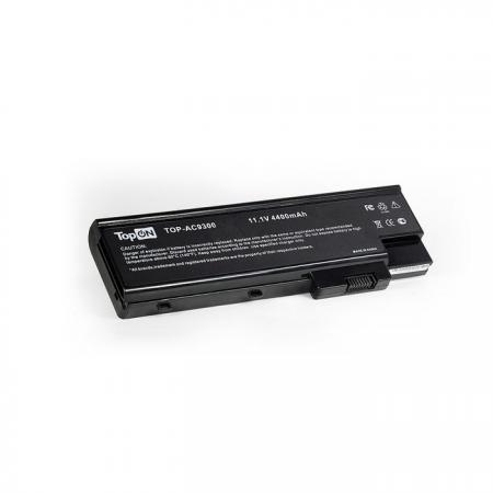 Аккумуляторная батарея TopON TOP-AC9300 4800мАч для ноутбуков Acer TravelMate 2460 4220 4270 4670 5620 Aspire 7110 9300 блок питания topon top ac10 для ноутбуков acer aspire 5600u