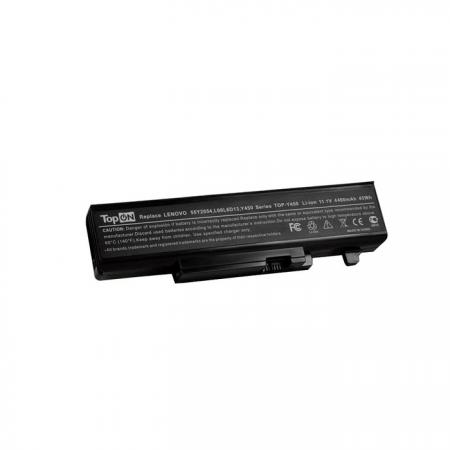 Аккумуляторная батарея TopON TOP-Y450 4400мАч для ноутбуков Lenovo IdeaPad Y450A/Y450G/Y550A/Y550P new lenovo ideapad p580 laptop lcd top lid back cover 90201007 am0qn000100