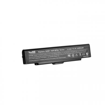 Аккумуляторная батарея TopON TOP-BPS2 5200мАч для ноутбуков Sony VGN-FE VGN-FJ VGN-FS VGN-FT VGN-S VGN-AR VGN-SZ цена