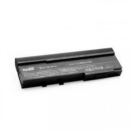 Аккумуляторная батарея TopON TOP-ARJ1H 7200мАч для ноутбуков Acer TravelMate 2420 3280 5540 6292 6492 Aspire 2920 3620 5560 блок питания topon top ac10 для ноутбуков acer aspire 5600u