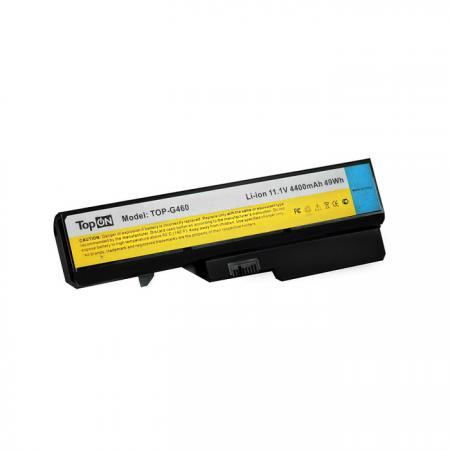 Аккумуляторная батарея TopON TOP-G460 4800мАч для ноутбуков Lenovo G460 G4704 G560 G565 G570 G575 G770 Z370 Z460 Z465 Z560 Z565 Z570 Z575 B570 B575 V570 клавиатура topon top 90692 для lenovo ideapad 3000 g460 g465 series black