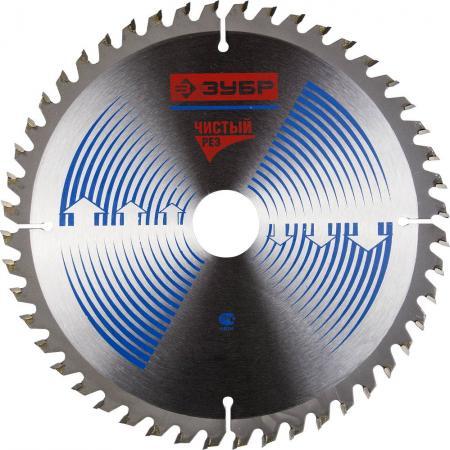 Пильный диск Зубр Эксперт Чистый рез 200х32мм 48Т по дереву 36905-200-32-48 диск пильный по дереву 200х32 мм 48z центроинструмент 200 48 32