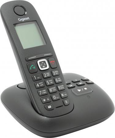 Фото Радиотелефон DECT Gigaset A540A черный автоответчик радиотелефон dect gigaset c620a черный