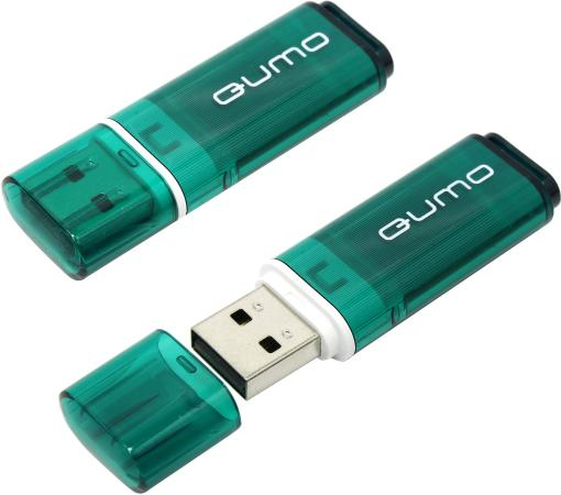 Флешка USB 16Gb QUMO Optiva 01 USB2.0 зеленый QM16GUD-OP1