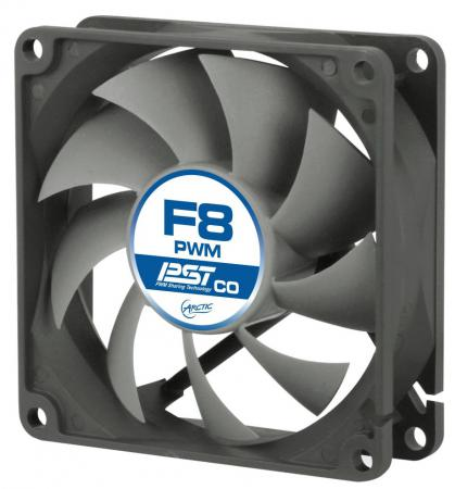 Вентилятор Arctic Cooling Arctic F8 PWM CO PST 80мм 850-2000 об/мин telego f8