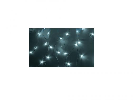 Гирлянда Светодиодный Дождь 235-035 1.5х1.5м свечение с динамикой белый гирлянда светодиодная neon night свечение с динамикой светодиодный дождь