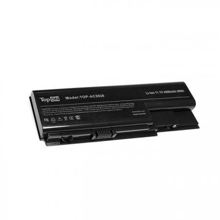 Аккумуляторная батарея TopON TOP-AC5920 4800мАч для ноутбуков Acer Aspire 5310G 5315G 5520G 5720G 5739 5920G 5930G 6530G 6920G 6930G 8730G 7520 7720G icw50 la 3581p for acer aspire 5520 5520g motherboard la 3581p mb ak302 005 mb ak302 002 tested good free shipping