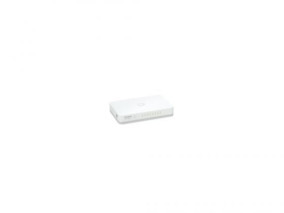 Коммутатор D-LINK DGS-1008A 8 портов 10/100/1000 Base-T 40a blade contact fuse link base holder nt00 500v 120ka 660v 50ka
