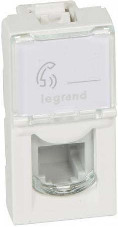 Розетка Legrand Mosaic RJ-11 телефонная 4 контакта 1 модуль белый 78730 other tamehome 2015 1 4 hifi