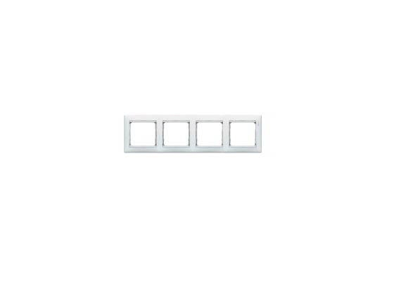 Рамка Legrand Valena четырехместная белая 774454 рамка 2 х местная белая
