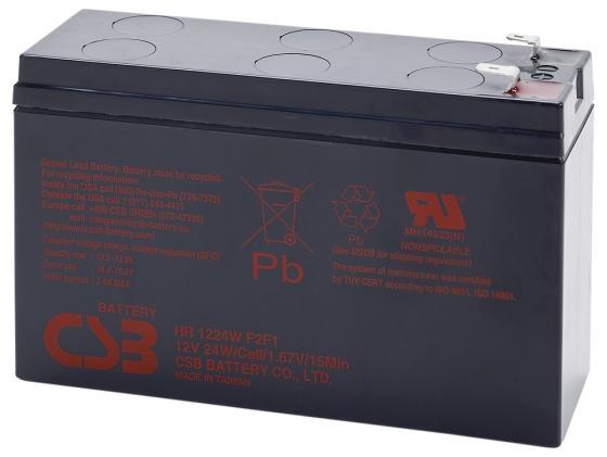 все цены на Батарея CSB HR1224 W F2/F1 12V/5.5AH онлайн