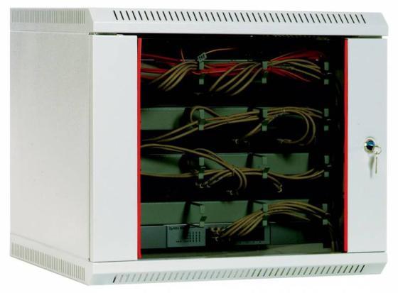 Шкаф настенный 9U ЦМО ШРН-9.650 600x650mm дверь стекло шкаф изотта 23к дверь правая ангстрем