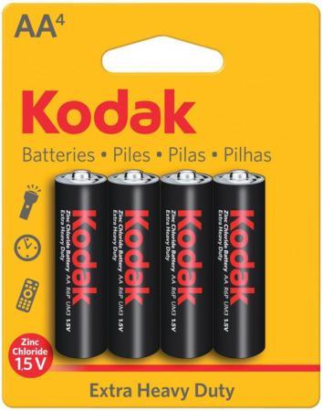 Батарейки Kodak Heavy Duty KAAHZ-4 AA 4 шт a v кабель kodak m863 купить
