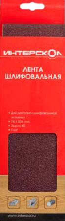 Лента шлифовальная Интерскол 76х533мм k 240 для ЛШМ-76/900 5шт 2081953324000 жало для паяльника медное element 900 mt k 900 m k