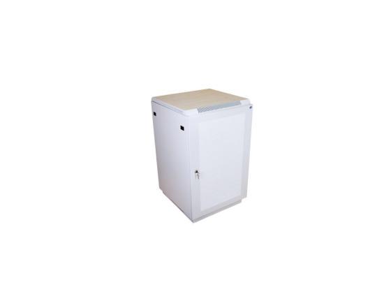 Шкаф напольный 22U ЦМО ШТК-М-22.6.8-4ААА 600x800mm дверь перфорированная серый 2 коробки шкаф напольный 27u цмо штк m 27 6 6 1aaa 600x600mm дверь стекло 2 коробки